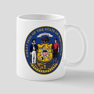 Wisconsin State Seal Mug