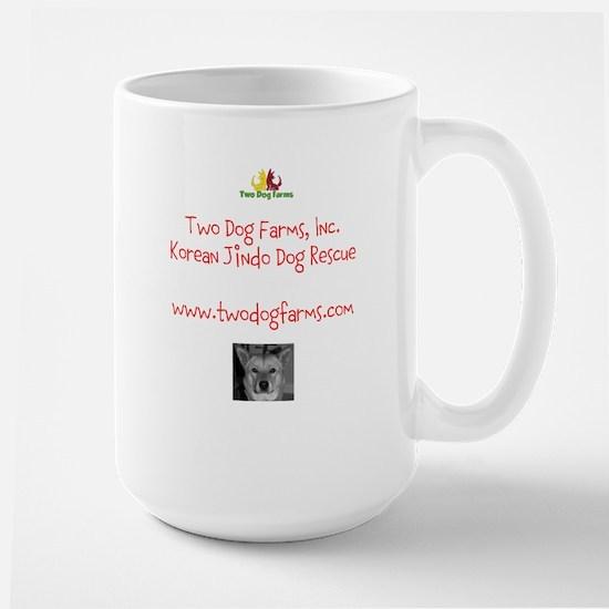 Two Dog Logo Large Mug