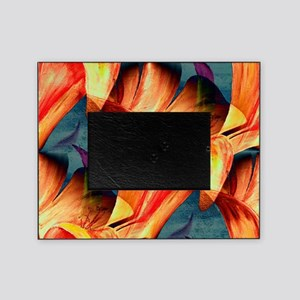Floral Abstract Picture Frame