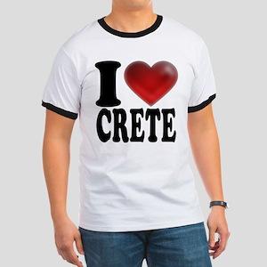 I Heart Crete Ringer T