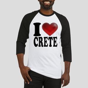 I Heart Crete Baseball Jersey