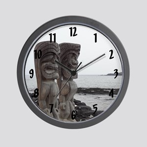Place of Refuge Tikis - Wall Clock