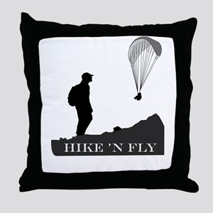 Hike 'N Fly Throw Pillow
