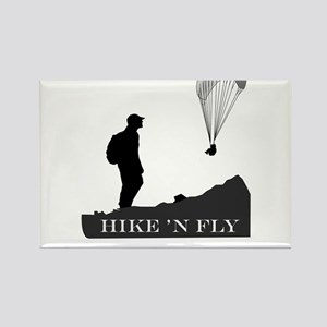 Hike 'N Fly Rectangle Magnet