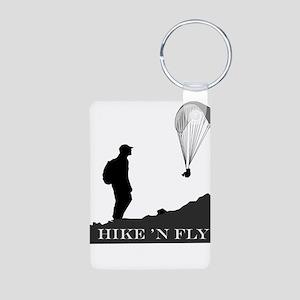 Hike 'N Fly Aluminum Photo Keychain