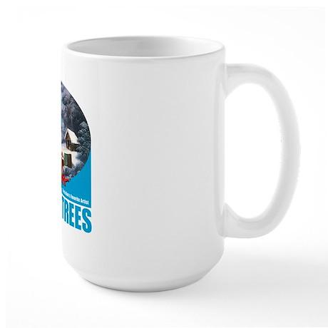 Large Happy Trees Mug Mugs