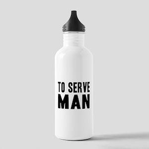"Futurama ""To Serve Man"" Stainless Water Bottle 1.0"