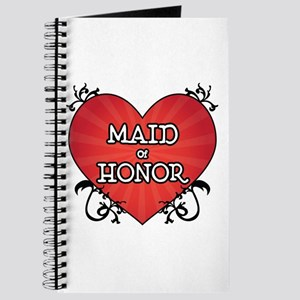 Tattoo Heart Maid Honor Journal