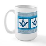 Masonic old fashioned diner style Large Mug