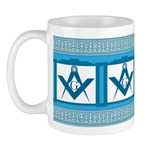 Masonic old fashioned diner style Mug