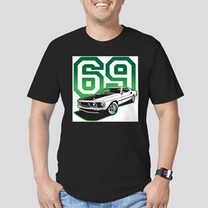2-green 69 mustang T-Shirt