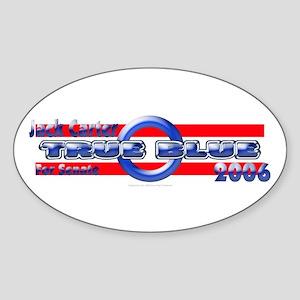Jack Carter for Nevada Oval Sticker