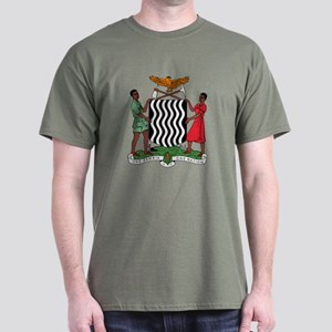 Zambia Coat Of Arms Dark T-Shirt