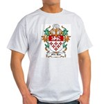 Fitz Roe Coat of Arms Ash Grey T-Shirt