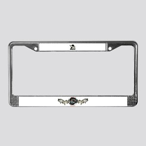Musky License Plate Frame