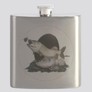 Feeding tiger musky Flask