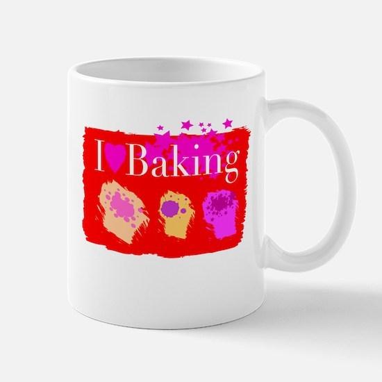 I Love Baking Mug