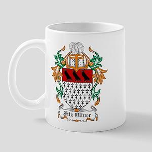 Fitz Oliver Coat of Arms Mug