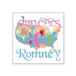 """Election Gear for Dancers Square Sticker 3"""" x"""