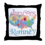 Election Gear for Dancers Throw Pillow