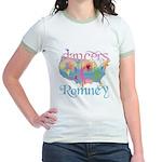 Election Gear for Dancers Jr. Ringer T-Shirt