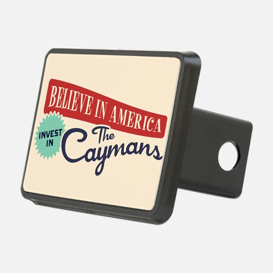 Invest in Caymans Hitch Cover