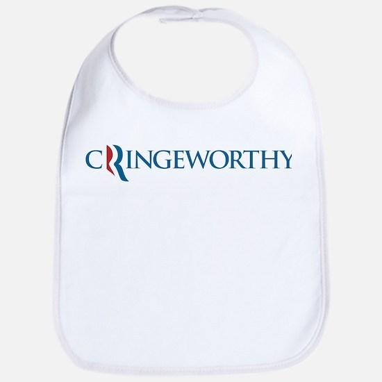 Romney Parody Cringeworthy Bib
