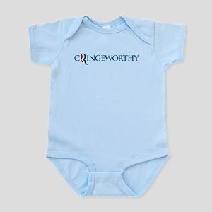 Romney Parody Cringeworthy Infant Bodysuit