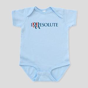 Romney Parody Irresolute Infant Bodysuit