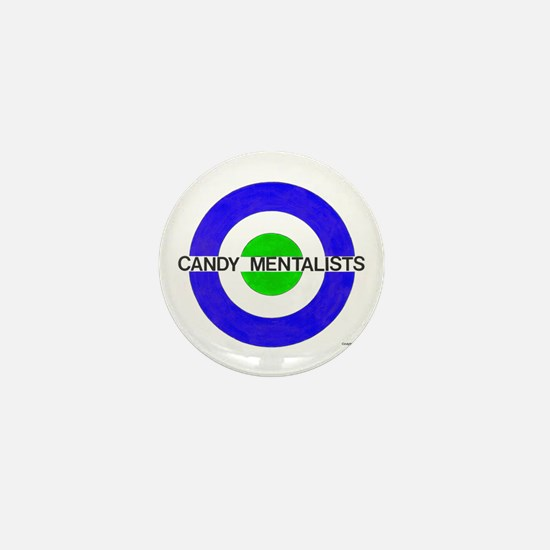 Mod Target (blue/green) Mini Button
