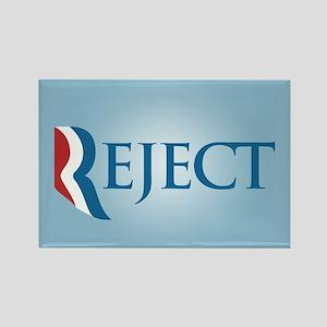 Romney Parody Reject Rectangle Magnet