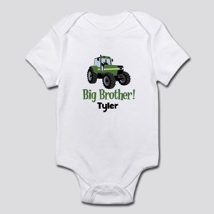 Big Brother Tractor Shirt - Tyler Infant Bodysuit