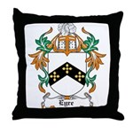 Eyre Coat of Arms Throw Pillow