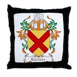Eustace Coat of Arms Throw Pillow