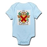 Eustace Coat of Arms Infant Creeper