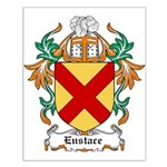 Eustace Coat of Arms Small Poster