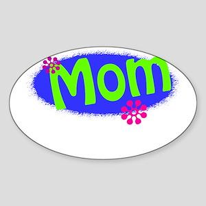 Bright Mom Sticker (Oval)
