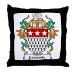 Esmonde Coat of Arms Throw Pillow