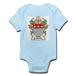 Esmonde Coat of Arms Infant Creeper