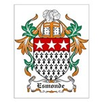 Esmonde Coat of Arms Small Poster