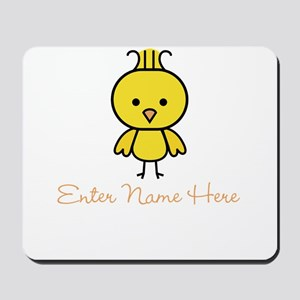 Personalized Baby Chick Mousepad