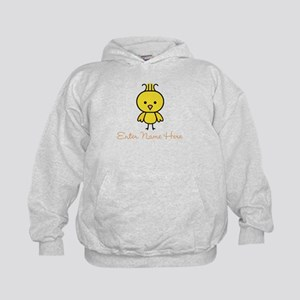 Personalized Baby Chick Kids Hoodie