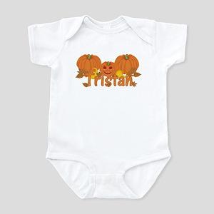 Halloween Pumpkin Tristan Infant Bodysuit