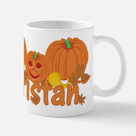 Halloween Pumpkin Tristan Mug