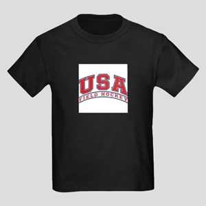USA Field Hockey Kids Dark T-Shirt
