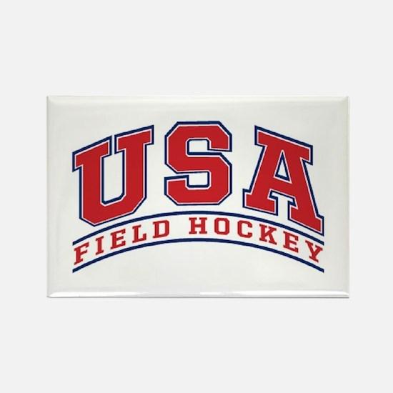 USA Field Hockey Rectangle Magnet