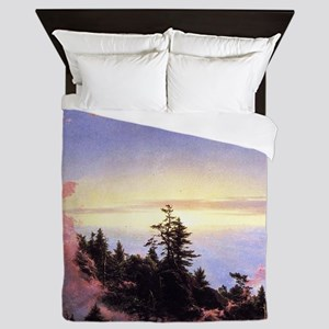 Frederic Edwin Church Sunrise Queen Duvet