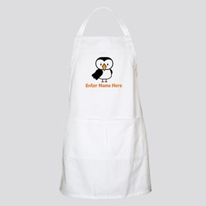 Personalized Puffin Apron