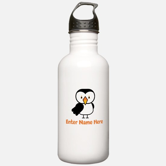 Personalized Puffin Water Bottle