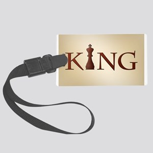 Chess King Luggage Tag